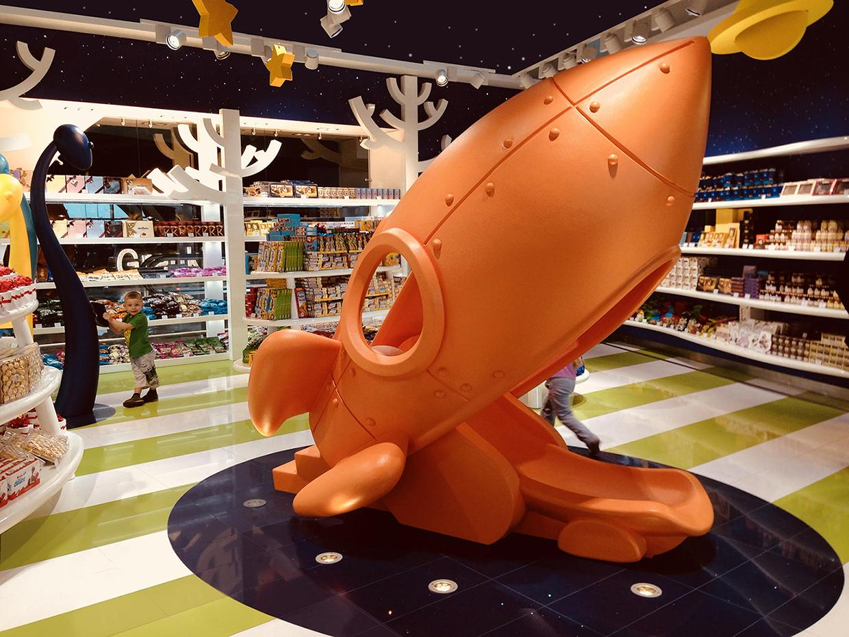 Toys & Sweets Stores. Moscow