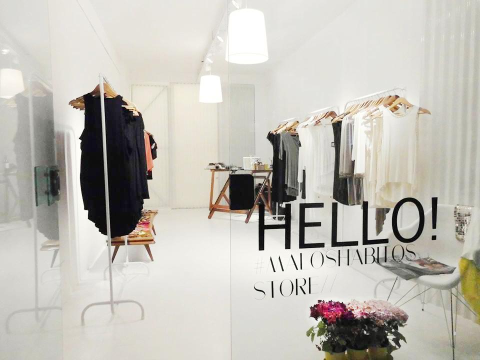 Maloshabitos Store Design