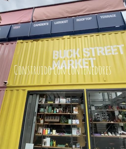 Cobertura Buck Street Market Camden