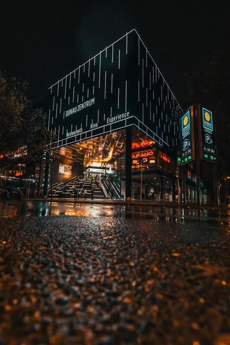 Donauplex Facade